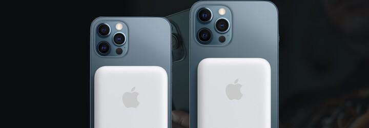 Apple představil magnetickou powerbanku, která bezdrátově nabije iPhone 12
