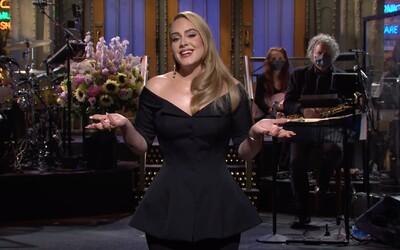 Adele se po letech vrátila do SNL. Vtipkovala o svém zhubnutí