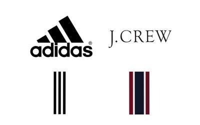 adidas chce zabrániť značke J.Crew, aby používala ikonické tri prúžky