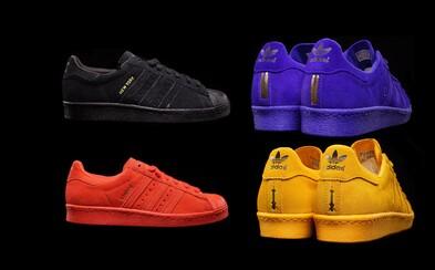 adidas Originals a cesta kolem světa s jednobarevnými Superstar 80s
