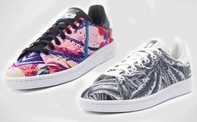adidas Originals a dámske tenisky od dvojice abstraktných umelcov z Tokia a San Francisca