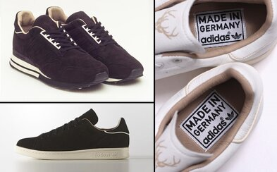 adidas Originals a dvojice Made In Germany tenisek