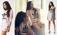 adidas Originals a pastelová kolekce plná růží pro dámy