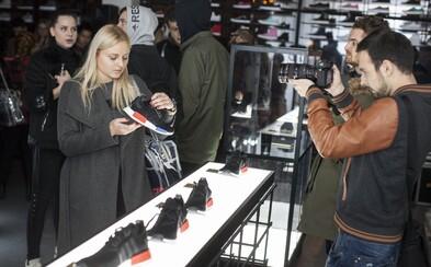 adidas Originals představil v Praze tenisky NMD expozicí pro 50 nejvýraznějších nomádů