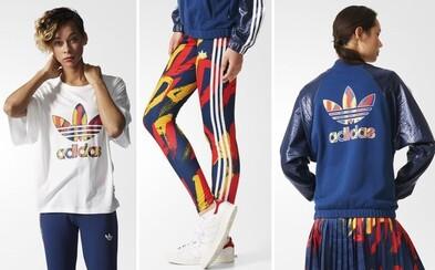 adidas Originals sa nechal v najnovšej kolekcii pre dámy inšpirovať parížskymi módnymi časopismi