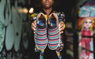 adidas Originals sa opäť spojil s Pharrellom Williamsom a výsledkom sú farebné a bláznivé kúsky