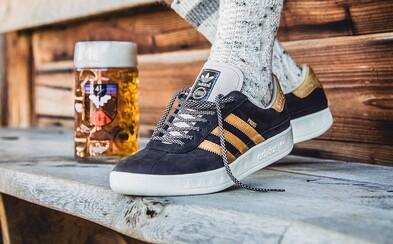 Adidas vyrobil tenisky odolné proti zvratkom aj pivu