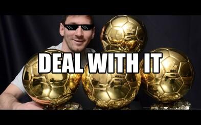 Přestaňte následovat Messiho a buďte sami sebou, vyzývá adidas
