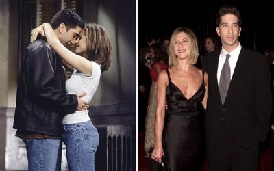 AKTUALIZOVANÉ: Sú len priatelia! Rachel a Ross zo seriálu Priatelia spolu nechodia, klebety vyvrátil David Schwimmer