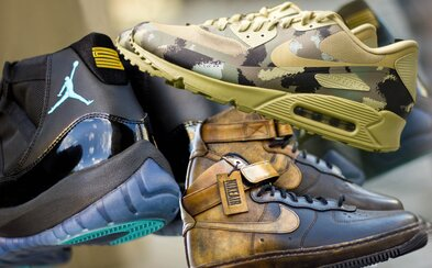 AF1 Pigalle, Air Max 90 Camo nebo Air Jordan 11 Gamma Blue mezi novinkami ze sekce Deadstock