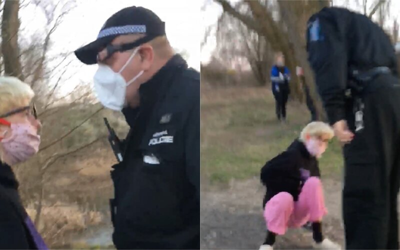 Pražský strážník devatenáctileté dívce místo pokuty vrazil facku. Incident řeší inspekce.