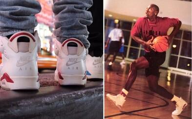 Air Jordan 6 Maroon s OG Nike Air logem před sebou mají svůj první Retro release od roku 1991