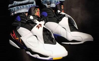 Air Jordan 8 oslavujúce zisk prvých troch titulov MJ-a v Chicagu Bulls idú do predaja