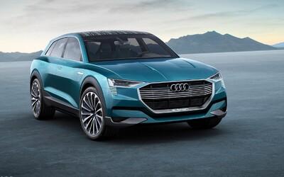 Aj Audi má na muške Teslu, dôkazom toho je výkonné elektrické SUV s dojazdom 500 kilometrov