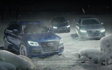 Aj Audi to hrá vianočnou reklamou na city, starého otca zachránil pred samotou pohon quattro