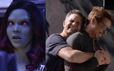 Aj Avengeri sa vedia na pľaci zabávať. Pozrite sa na 5 minút z natáčania Infinity War plných smiechu a nepodarených záberov