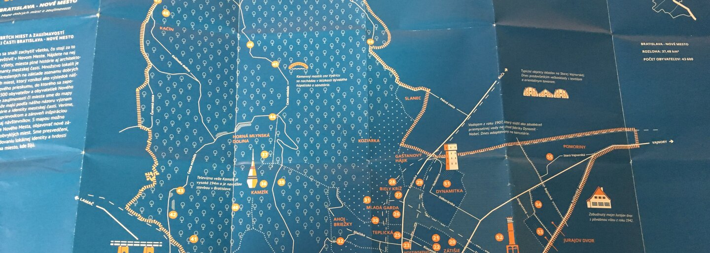 Aj bratislavské Nové Mesto stojí za návštevu. Mestská štvrť dostala svoju vlastnú mapu zaujímavostí, ktoré snáď zaujmú aj teba
