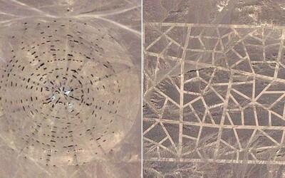 Aj Čína má svoju Area 51. Na Google Mapách objavili konšpirátori záhadné objekty a za všetkým vraj stoja mimozemšťania