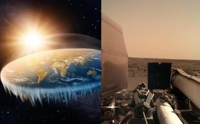 Aj Mars je plochý. Fanúšikovia teórie o plochej Zemi spochybňujú sondu NASA na červenej planéte