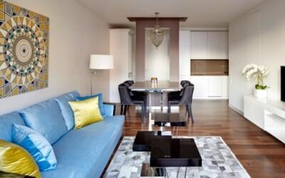 Aj menší apartmán môže byť priestranný a štýlový