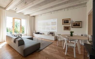 Aj na prízemí starého obytného domu môže vzniknúť byt hodný architektonických ocenení
