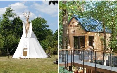 Aj na Slovensku nájdeš netradičné ubytovanie na Airbnb. Spať môžeš v indiánskom stane či dome medzi stromami
