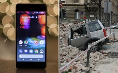 I tvůj mobil bude pravděpodobně již brzy součástí největší sítě seismografů. Pomůže tak při zemětřeseních