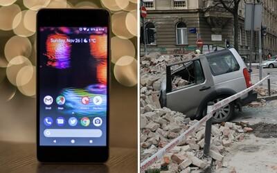Aj tvoj mobil bude pravdepodobne už čoskoro súčasťou najväčšej siete seizmografov. Pomôže tak pri zemetraseniach