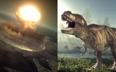 Ak by asteroid priletel len o niekoľko sekúnd skôr, dinosaury by žili aj dnes. Nikdy si sa nemusel narodiť a svet mohol mať úplne inú tvár