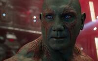 Ak Marvel nepoužije scenár od Jamesa Gunna, Dave Bautista sa ako Drax v Guardians of the Galaxy 3 nemusí ukázať