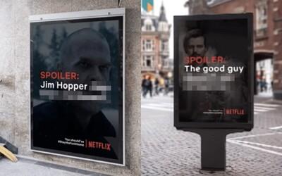 Ak nedodržíš karanténu a pôjdeš von, dozvieš sa spoilery tvojich obľúbených seriálov z Netflixu. Falošná kampaň sa stala virálnou