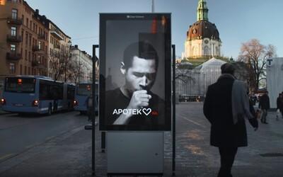 Ak pri tomto billboarde fajčíš cigaretu, zakašle. Švédska kampaň proti fajčeniu využíva inteligentné reklamy