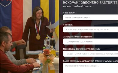 Ak sa chceš zúčastniť schôdze vo Fekišovciach, potvrď účasť elektronicky na oficiálnej stránke