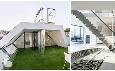 Ak túžite po dokonalej terase, nemusíte nutne vlastniť dom, čoho dôkazom je moderný mezonet z Viedne