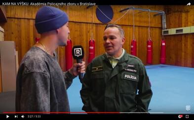 Akadémia Policajného zboru v Bratislave ponúka atraktívne aj adrenalínové štúdium. Čo všetko môžeš zažiť? (Video)
