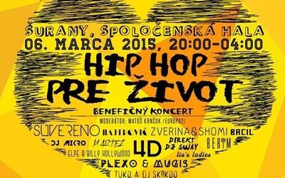 Akcia Hip Hop pre Život aj tento rok, podpor dobrú vec!