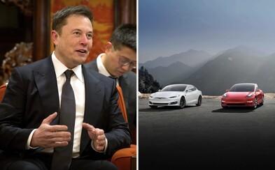 Akcie Tesly rekordně rostou, Elon Musk má důvod k radosti. Pomáhá mu i nová továrna v Číně