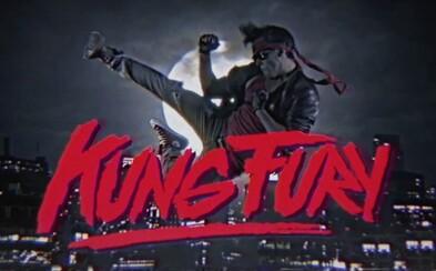 Akčná haluz Kung Fury vás vezme na šialený výlet do rokov osemdesiatych