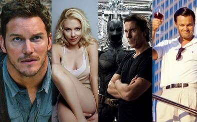 Aké filmy momentálne natáčajú najobľúbenejší herci a herečky Hollywoodu?