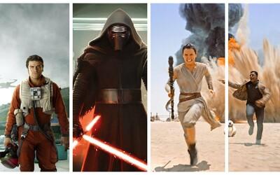 Aké filmy natáčajú hviezdy nového Star Wars: The Force Awakens?