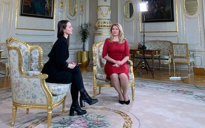Aké je to robiť rozhovor s prezidentkou?