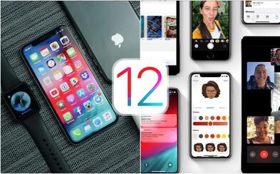 Jaké novinky přináší iOS 12? Krom zrychlení tě čekají memoji nebo rozšířená realita
