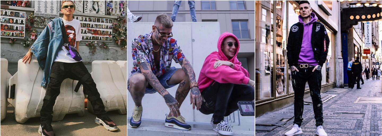 Jaké tenisky momentálně nosí čeští a slovenští rapeři? Inspiruj se sbírkou Yzomandiase, Ega nebo Rytmuse