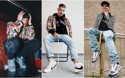 Aké tenisky aktuálne nosia slovenskí a českí raperi? Inšpiruj sa zbierkou obuvi Ega, Yzomandiasa či Pil C-ho