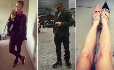 Aké topánky momentálne nosia známi Slováci a Česi? #3