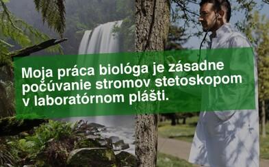 Ako biológ vždy počúvam stetoskopom stromy. Takto si fotografické agentúry predstavujú povolania ľudí a internet má z toho dobrú zábavu