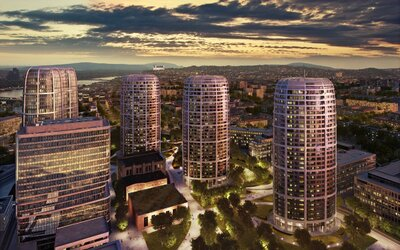 Ako bude vyzerať Bratislava  v roku 2030? Prvý mrakodrap na Slovensku, vynovená Hlavná stanica či nový most cez Dunaj