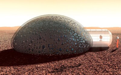 Ako by sme mohli bývať na Marse: V bubline a zavŕtaní do zeme