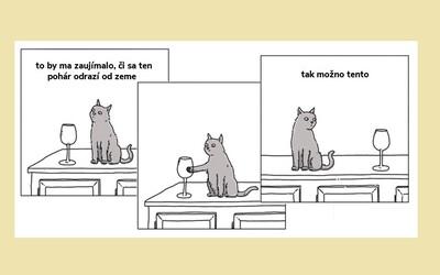 Ako by to vyzeralo, ak by zvieratá vedeli rozprávať? Reči mačiek by boli plné zlomyseľnosti a sarkazmu