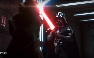 Jak by vypadal souboj Obi-Wana s Darth Vaderem v Nové naději, kdyby byl natočen v současném stylu? Fanouškovské video vám to ukáže